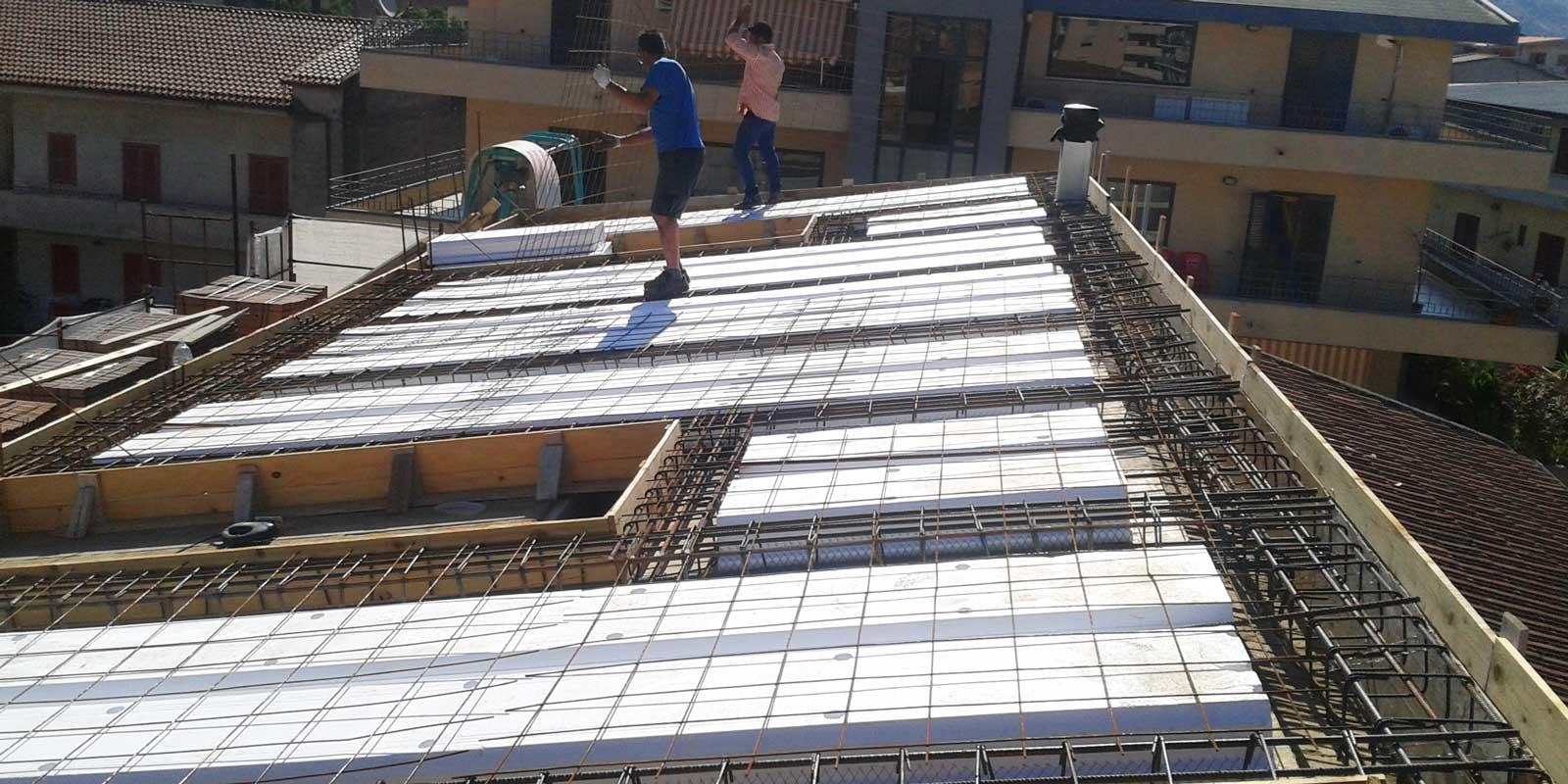 Solaio plastbau edilmarzo srl - Apertura vano in muratura portante ...