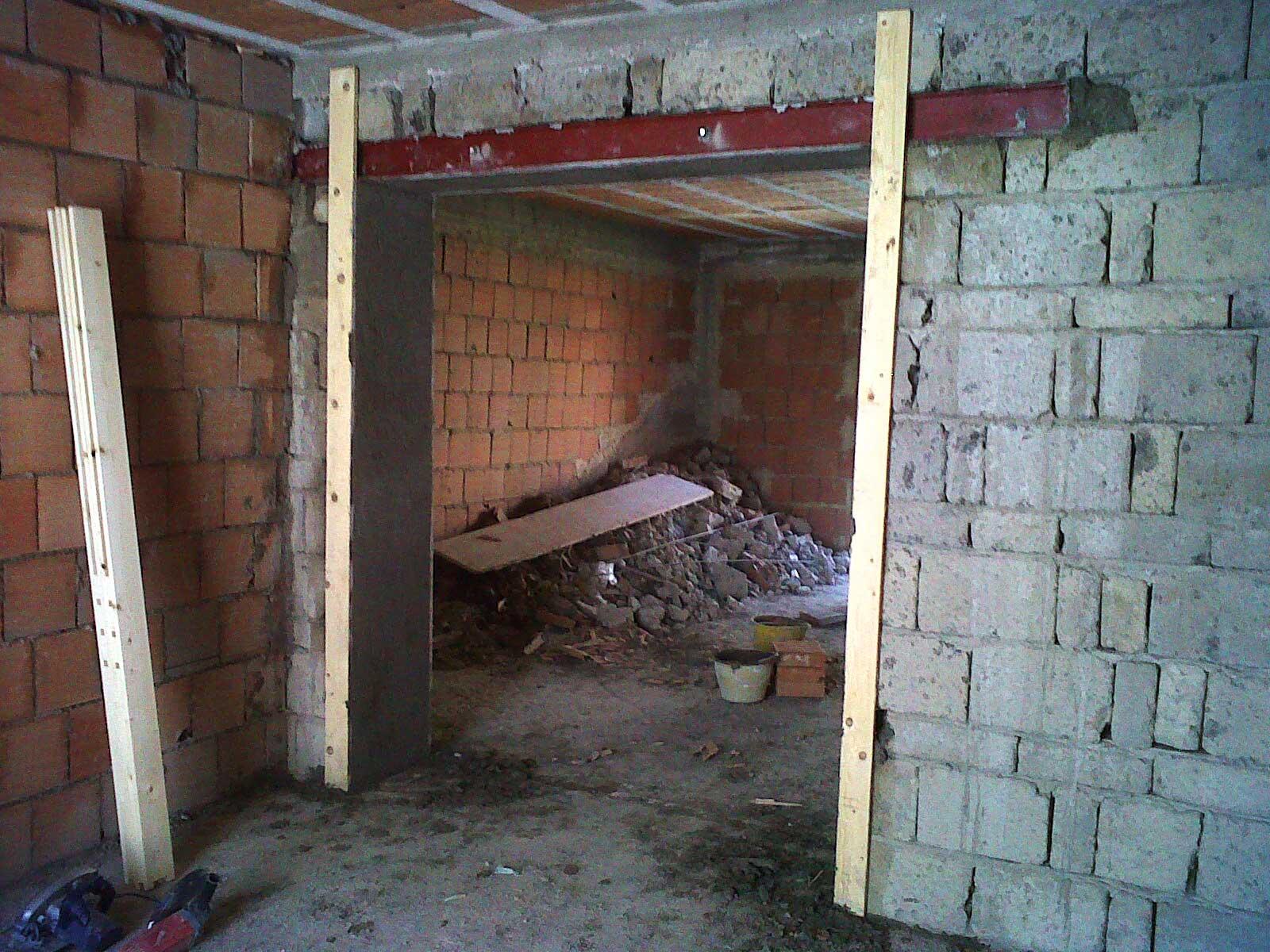 Apertura vano porta in muratura portante edilmarzo srl - Apertura vano in muratura portante ...